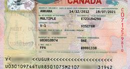 Kanada Vizesi 2016